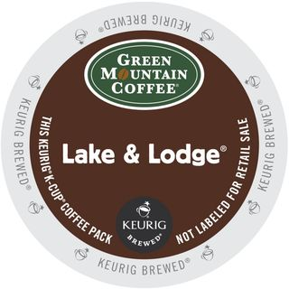 Green Mountain Lake and Lodge Coffee, K-Cup Portion Pack for Keurig Brewers