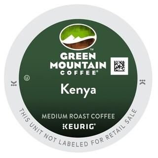 Green Mountain Kenyan AA Extra Bold Coffee K-Cup Keurig Portion Packs