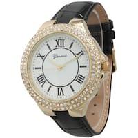 Olivia Pratt Roman Numeral Embossed Watch