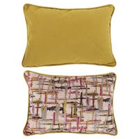 20-inch x 14-inch Abstract Throw Pillow