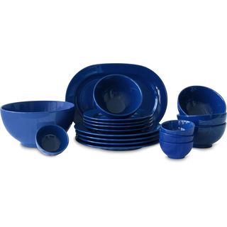 Waechtersbach Fun Factory Royal Blue 18-Piece Dinner Set