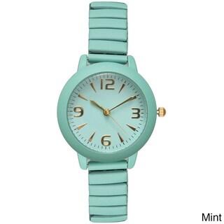 Olivia Pratt Women's Basic Everyday Watch (Option: Mint)