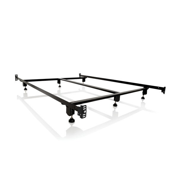 Struct Steel Bolted Frame : Structures steelock bolt on headboard footboard metal bed