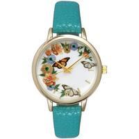 Olivia Pratt Women's Butterly/Flower Watch