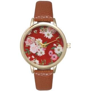 Olivia Pratt Women's Cute Flower Watch