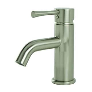 S-Series Brushed Nickel European Single-post Bathroom Faucet