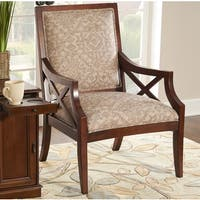 Powell Dixon Aztec Print Accent Chair