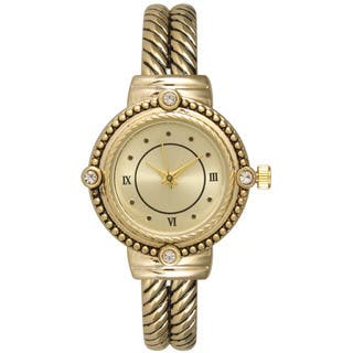 Olivia Pratt Women's Lovely Antique Looking Watch|https://ak1.ostkcdn.com/images/products/12332061/P19163462.jpg?impolicy=medium