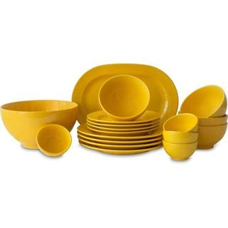 Waechtersbach Fun Factory Yellow 18-piece Dinnerware Set