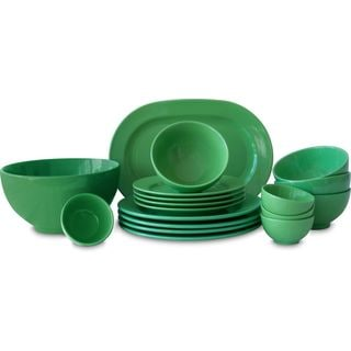 Waechtersbach Fun Factory Green 18-piece Dinnerware Set