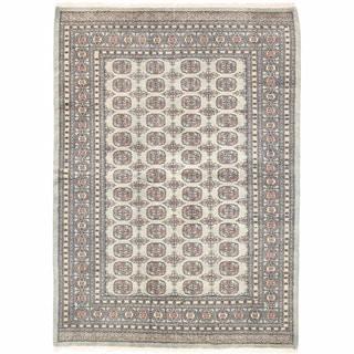 Herat Oriental Pakistani Hand-knotted Bokhara Wool Rug (5'7 x 7'10)