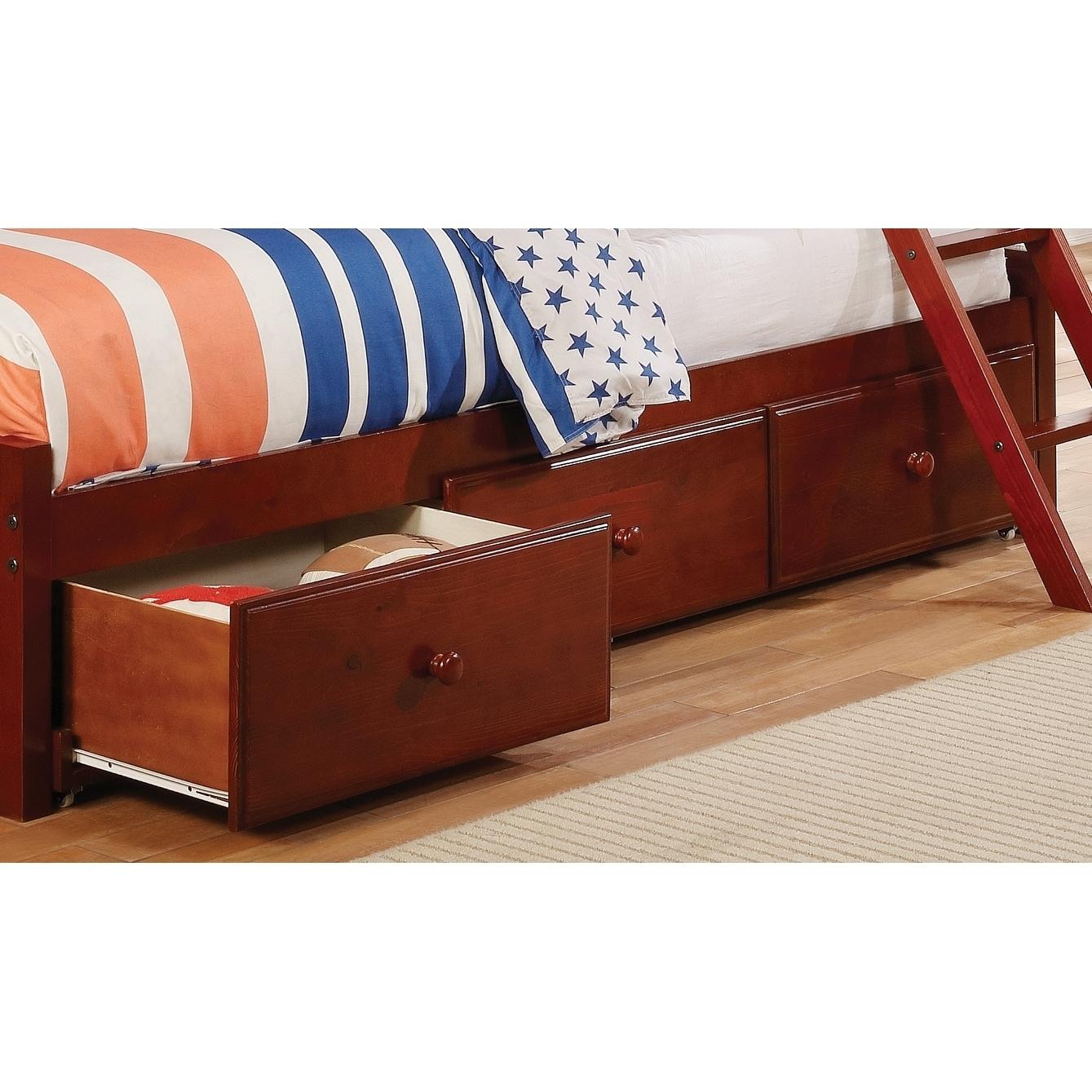 Coaster Furniture Brown Pine Under-bed Storage (400291S)
