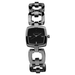 Rosseau Ursula ladies' cube shaped fashion watch, satin finished dials