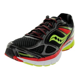 Saucony Men's Guide 7 Black/Red Running Shoe