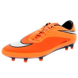 Nike Men's Hypervenom Phatal Fg Crmsn/White/Orange/Black Soccer Cleat