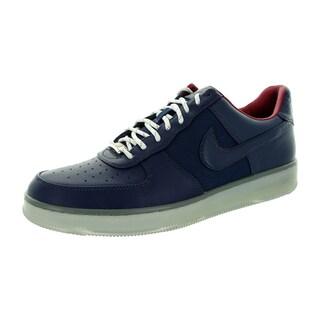 Nike Men's Af1 Downtown Mid Navy/Mid Navy/Mrcry Basketball Shoe