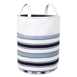 BirdRock Home Canvas Laundry Hamper With Handles