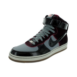 Nike Men's Af1 Downtown Hi Noble Red/Black/Fusion Red/Black Basketball Shoe