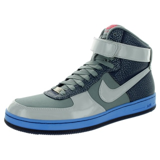 Nike Men's Af1 Downtown Hi Grey/Mid Navy/Dstnc Bl Basketball Shoe