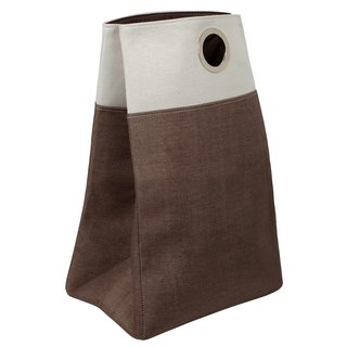 BirdRock Home Oxford Laundry Bag with Handles