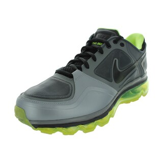 Nike Trainer 1.3 Max+ Running Shoes (Stealth/Black/Cool Grey/Volt)