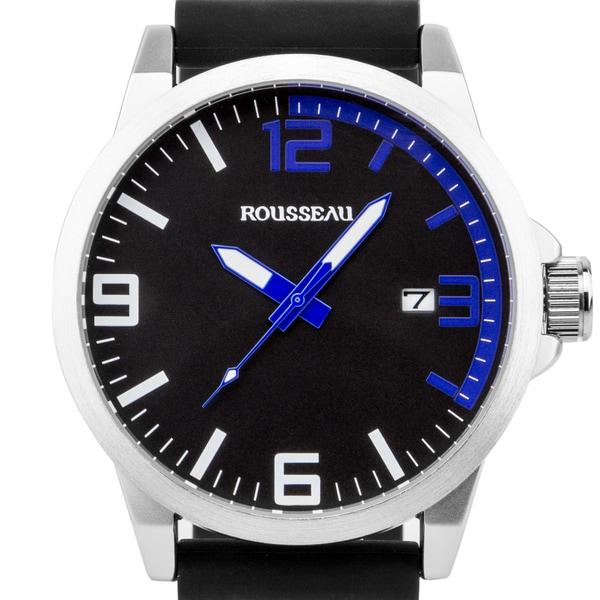 Rousseau Dufaux Men X27 S Sport Watch Xl Case Size Bold Accents