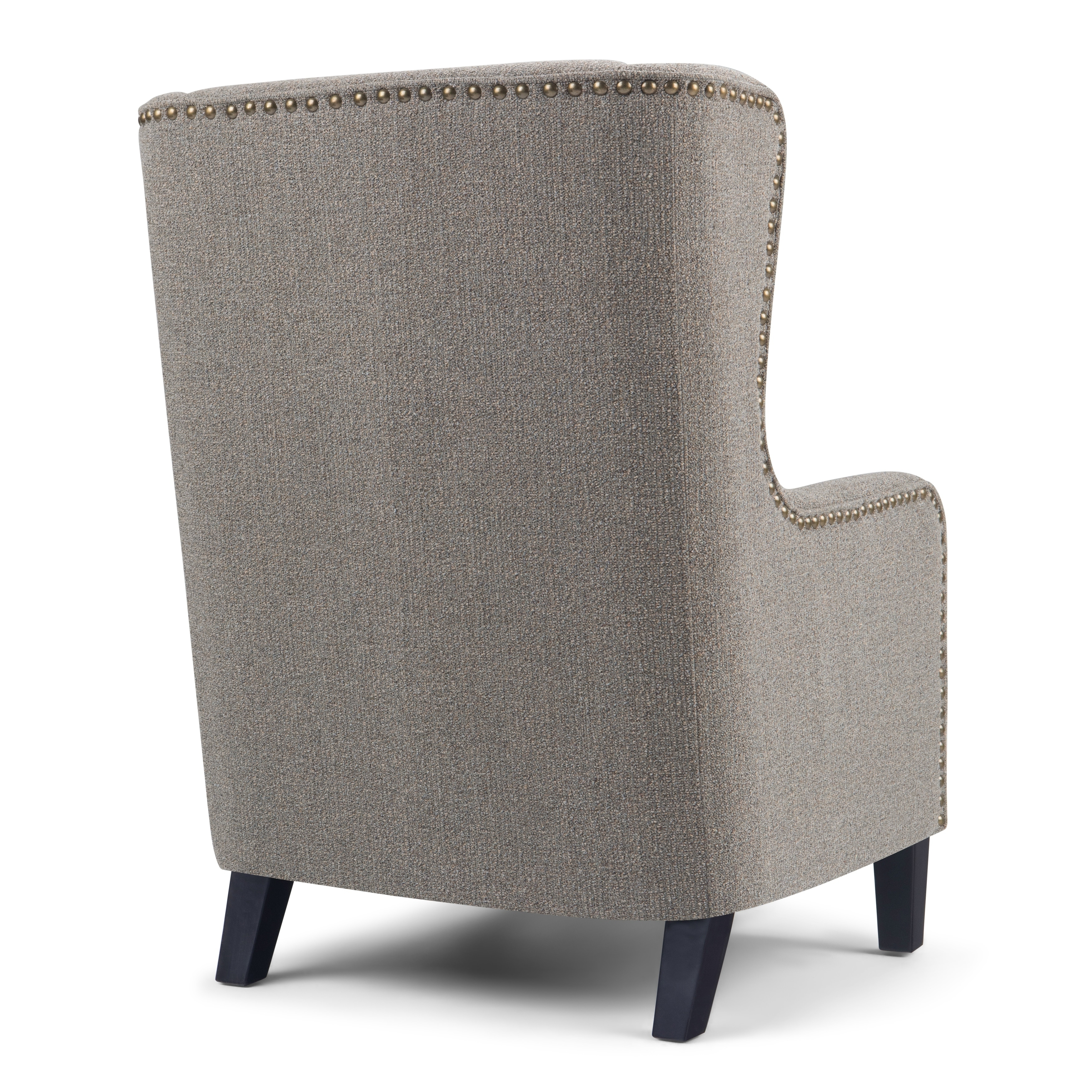 Wyndenhall Manford 28 Inch Wide Traditional Wingback Armchair In 27 6 W X 33 7 D X 39 8 H