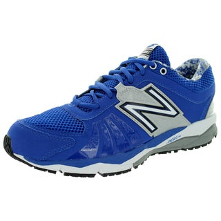 New Balance Men's Turf 1000V2 Blue With Silver Training Shoe