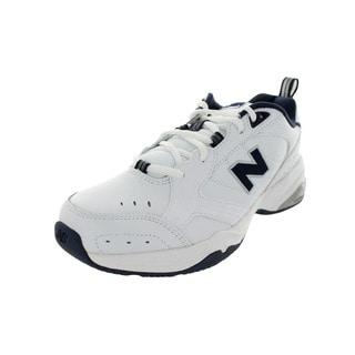 New Balance Men's Mx624Wn2 D Medium White/Navy Training Shoe