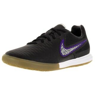 Nike Men's Magistax Final Ic Black/Wolf Grey/Frc Purple/White Indoor Soccer Shoe