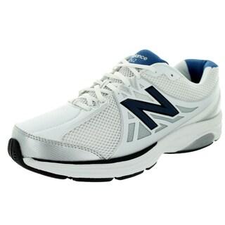 New Balance Men's 847V2 White/Navy Training Shoe
