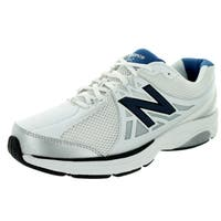 New Balance Men's 847V2 White/Navy Training Shoe