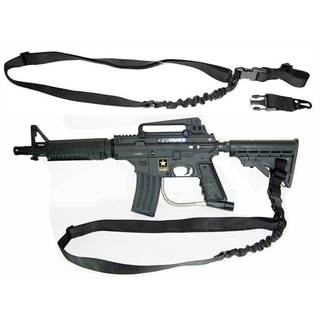 Trinity Black Nylon 1 Point Tactical Bungee Sling