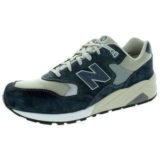 New Balance Men's Elite Revlite 580 Lifestyle Navy With Grey & Cream Running Shoe