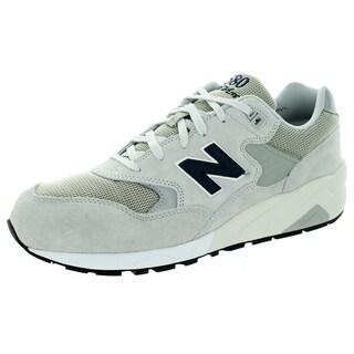 New Balance Men's Elite Revlite 580 Lifestyle Light Grey Running Shoe