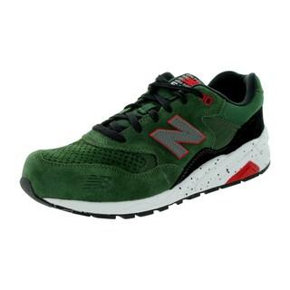 New Balance Men's Elite Revlite 580 Green/Gray/Black Running Shoe