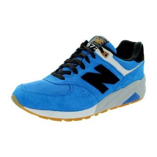 New Balance Men's Elite 572 Blue/Black Running Shoe
