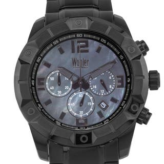 Wohler Wilhelm Men's sport/dress chronograph watch, Mother of Pearl dial|https://ak1.ostkcdn.com/images/products/12334749/P19165855.jpg?impolicy=medium
