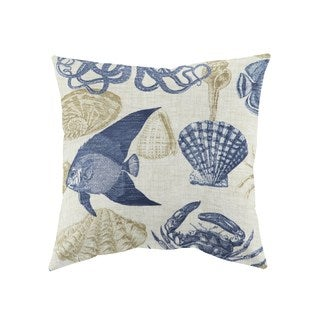 Reef Life Decorative 18-inch Throw Pillows (Set of 2)