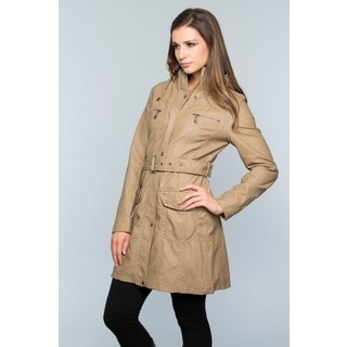 Women's Rainy Day Belted Trench