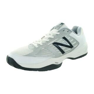 New Balance Men's 896V1 White/Black Tennis Shoe