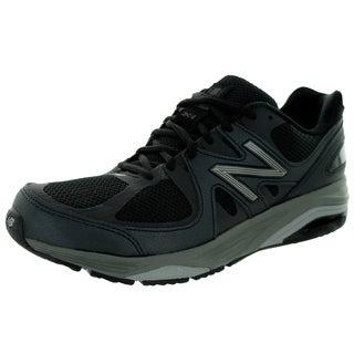 New Balance Men's 1540V2 Black With Silver Running Shoe