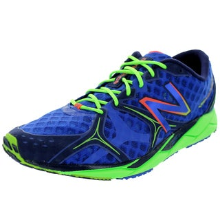 New Balance Men's 1400V2 Blue With Green Running Shoe