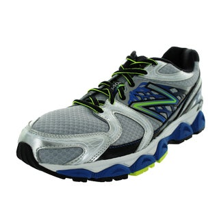 New Balance Men's 1340V2 Silver/Blue/Black Running Shoe