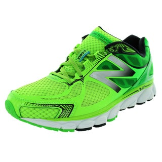 New Balance Men's 1080V5 Greenver/White Running Shoe