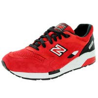 New Balance Men's Cm1600 Classics Red/Black Running Shoe