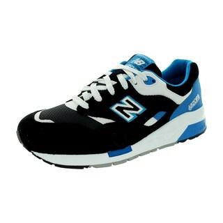 New Balance Men's Cm1600 Classics Black/Brightt Blue/White Running Shoe