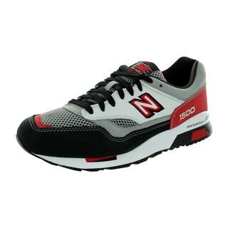 New Balance Men's 1500 Classics Grey/Black/Deep Claret Running Shoe