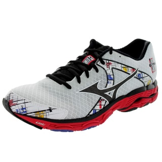 Mizuno Men's Wave Inspire 10 White/Black/Red Running Shoe