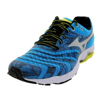 Mizuno Men's Wave Sayonara Bluever/Yellow Running Shoe